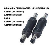 Adaptador Plug MACHO x MACHO