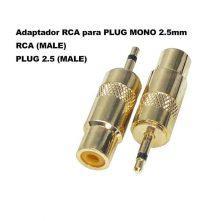 Adaptador RCA para Plug MONO