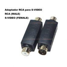 Adaptador RCA para S-VIDEO