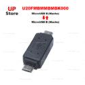 Adaptador MicroUSB 2.0  B Macho para MicroUSB 2.0 B Macho