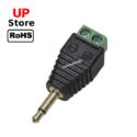 Adaptador Plug P2  Mono 3.5mm Macho <=> Bloco terminal 2 Vias