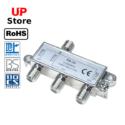 Adaptador  Plug 1x Antena F => Plug 3x Antena F