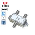 Adaptador  1X Antena F <=> 2x Antena VHF-UHF -BS-CS