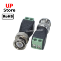 Adaptador   Plug BNC Macho Trava <=> Terminal Box 2 Vias