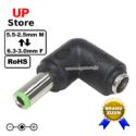Adaptador L Plug DC 5.5-2.5 F <=> Plug DC 6.3-3.0 M