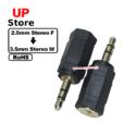 Adaptador P1 2.5mm Stereo F => Plug 3.5mm Stereo
