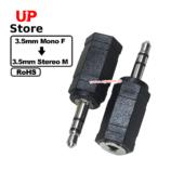 Adaptador P2-P3 3.5mm Mono F => P2-P3 3.5mm Stereo M