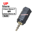 Adaptador  3.5mm Stereo F – Plug 2.5mm Stereo M