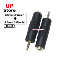 Adaptador  Plug 3.5mm 4 Vias F – Plug 2.5mm 3 Vias M