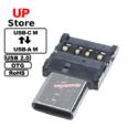 Adaptador USB-C M – USB-A 2.0 M