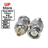 Adaptador Plug MCX F – Plug BNC M