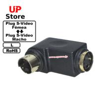 Adaptador  L Plug S-Video F – Plug S-Video M