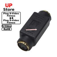 Adaptador  Plug S-Video F – Plug S-Video F