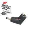 Adaptador L Plug  DC 4.00-1.7 M  – Plug  DC 4.00-1.7 F