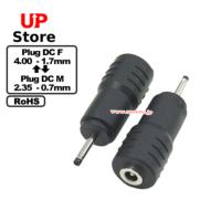 Adaptador Plug  DC 4.00-1.70 F-Plug  DC 2.35-0.70M