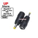 Adaptador Plug  DC 5.50-2.10 F-Plug  DC 4.00-1.70 M