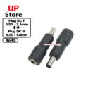 Adaptador Plug  DC 5.50-2.10 F-Plug  DC 6.50-1.40 M