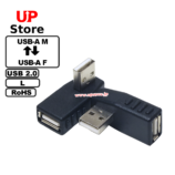 Adaptador L USB-A F – USB-A M