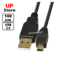 Cabo USB-A M  – MiniUSB-B M 100-500cm