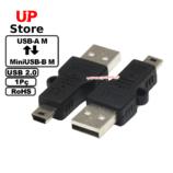 Adaptador USB-A M – MiniUSB-B M