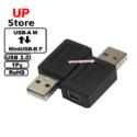 Adaptador USB-A M – MiniUSB-B F