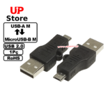 Adaptador USB-A M – MicroUSB-B M