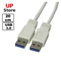 Cabo 3.0 USB-A M  – USB-A M20cm