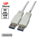 Cabo Crossover 3.0 USB-A M  – USB-A M 20cm
