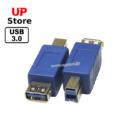 Adaptador USB-A F – USB-B M USB 3.0