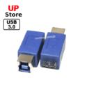 Adaptador MicroUSB-B M – USB-B F USB 3.0