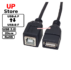 Cabo USB-B F – USB-A F 20cm